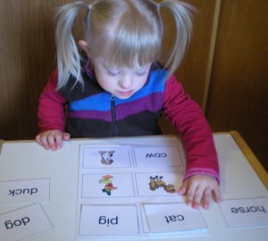 Ava, a Great Non-Verbal Reader