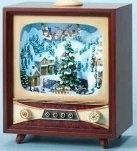 retro Christmas music box